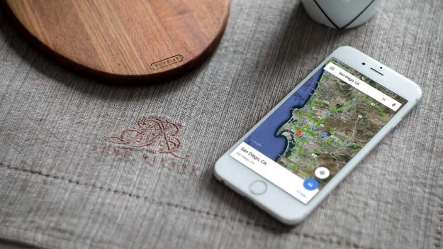Google Maps 3D Touch Pit Stop