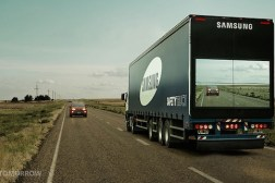 Samsung See Through Truck