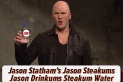 SNL Chris Pratt's Jason Statham Impersonation
