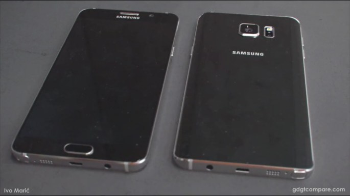 Galaxy Note 5 Specs Features Leaked Photos