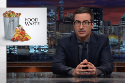 John Oliver Food Waste Video