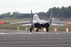 Fighter Jet Vertical Take Off