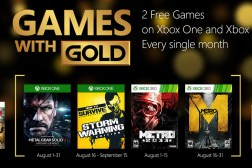 Xbox Games with Gold August 2015