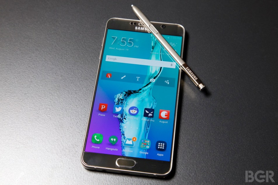 Samsung Galaxy Note 5 Review