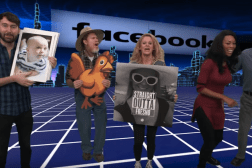 Facebook Virtual Reality Jimmy Kimmel Video
