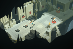 Lara Croft GO Review iPhone iPad