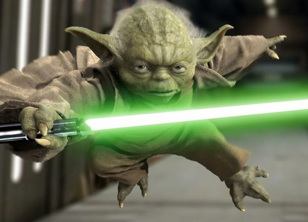 Star Wars Yoda Weight Experiment