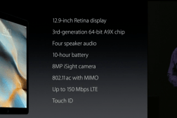 iPad Pro Specs Features Official