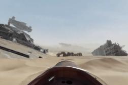 Star Wars The Force Awakens Jakku 360 Video
