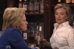 SNL Hillary Clinton Bartender Video