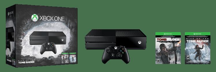 Xbox One Tomb Raider Bundle