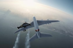 Jetmen Airbus A380 Flight