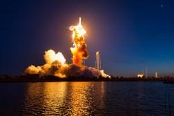 NASA Antares Explosion Photos