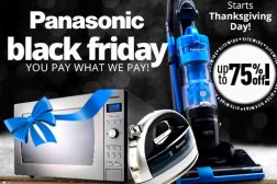 Panasonic Full Black Friday 2015 Ad