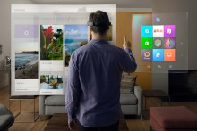 What it's like to spend an hour using Microsoft's HoloLens