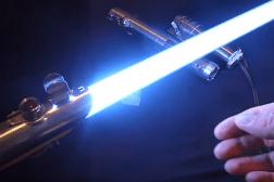 Best Homemade Lightsaber Ever Video