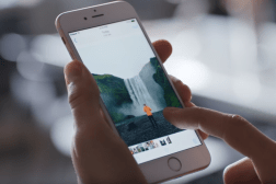 iPhone Holographic Display Hover Gestures