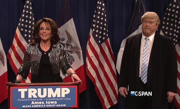 Tina Fey Mocks Sarah Palin