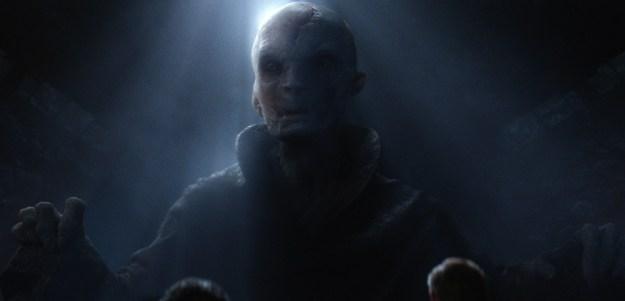Star Wars Force Awakens Snoke Maz Photos