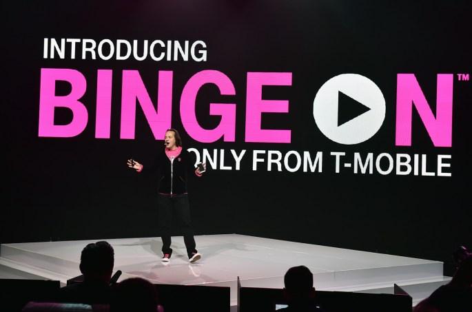 T Mobile Binge On List