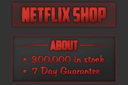 Netflix Black Market