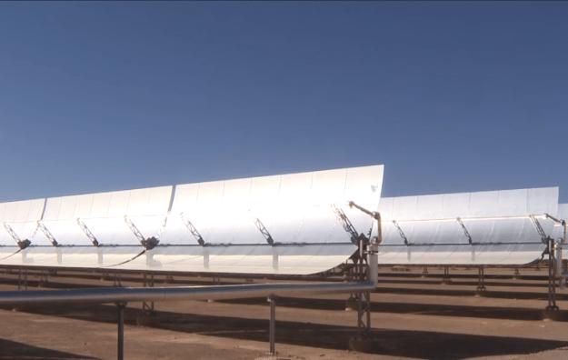 Noor Solar Concentrator in Morocco