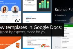 Google Docs New Templates