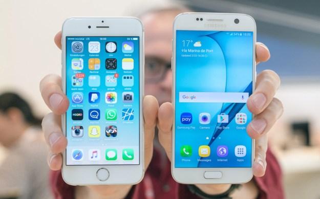 Galaxy S7 Vs iPhone 6s Plus