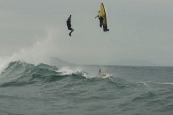 Jet Ski Drone Crash
