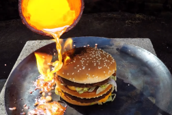 Big Mac Molten Copper Viral Video
