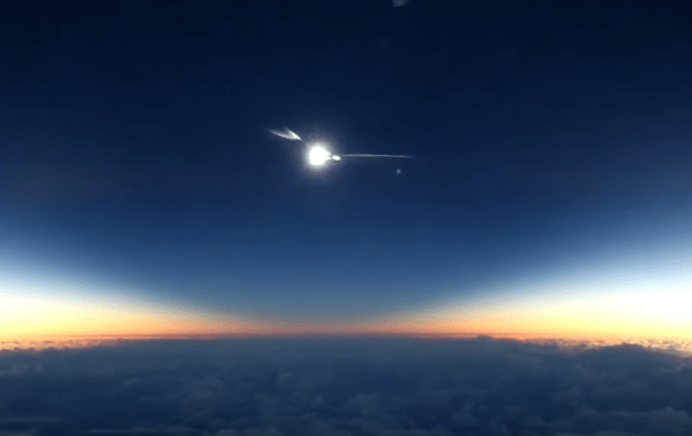 total-solar-eclipse-plane-video