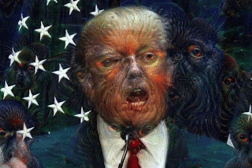 Donald Trump Google Deep Dream Video