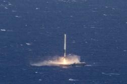 SpaceX Rocket Ocean Landing