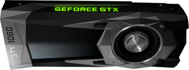 Placa de vídeo GeForce GTX 1060-Especificações