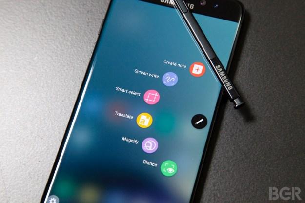 Galaxy Note 7 Recall Safe Battery Update