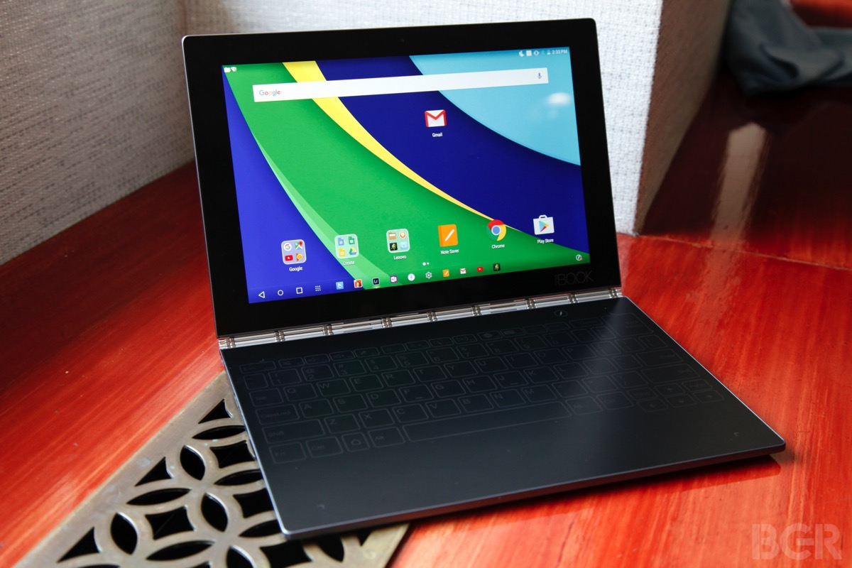 Yoga Book ditches a physical keyboard for pen and touch