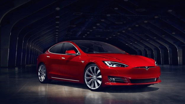 tesla s crazy new model s p100d is the fastest production car in the. Black Bedroom Furniture Sets. Home Design Ideas