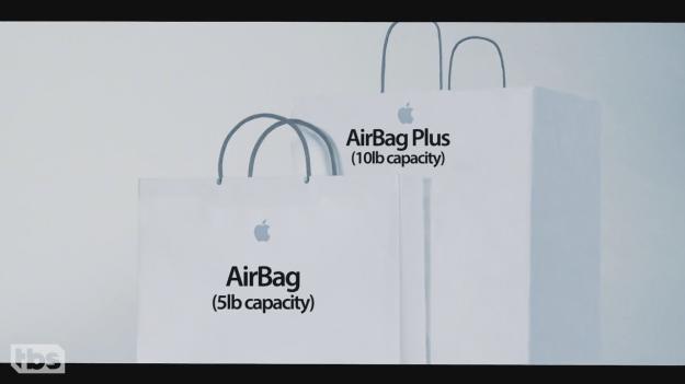 Conan Apple AirBag Video