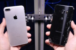 iPhone 7 Plus vs Galaxy Note 7 Drop Test