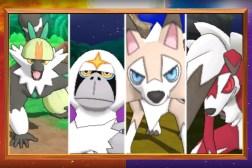 Pokemon Sun and Moon Exclusive Pokemon