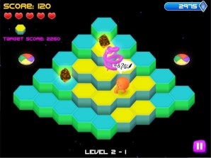 Q*Bert Rebooted (PS4) Review - 2015-02-26 13:38:35