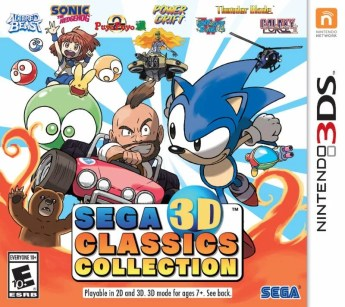 Sega Announces Classics Collection for 3DS - 2016-01-21 13:27:29