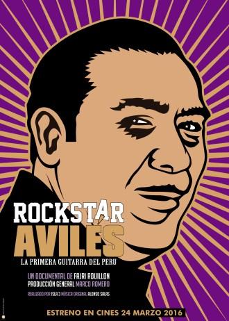 Rockstar Aviles - poster
