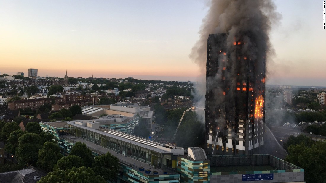 London fire  Manslaughter charges possible in Grenfell Tower     Firefighters battle the massive blaze