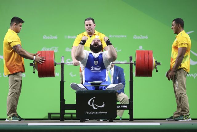 2016 09 14T141711Z 1683538068 HT1EC9E13O3VN RTRMADP 3 PARALYMPICS RIO POWERLIFTING