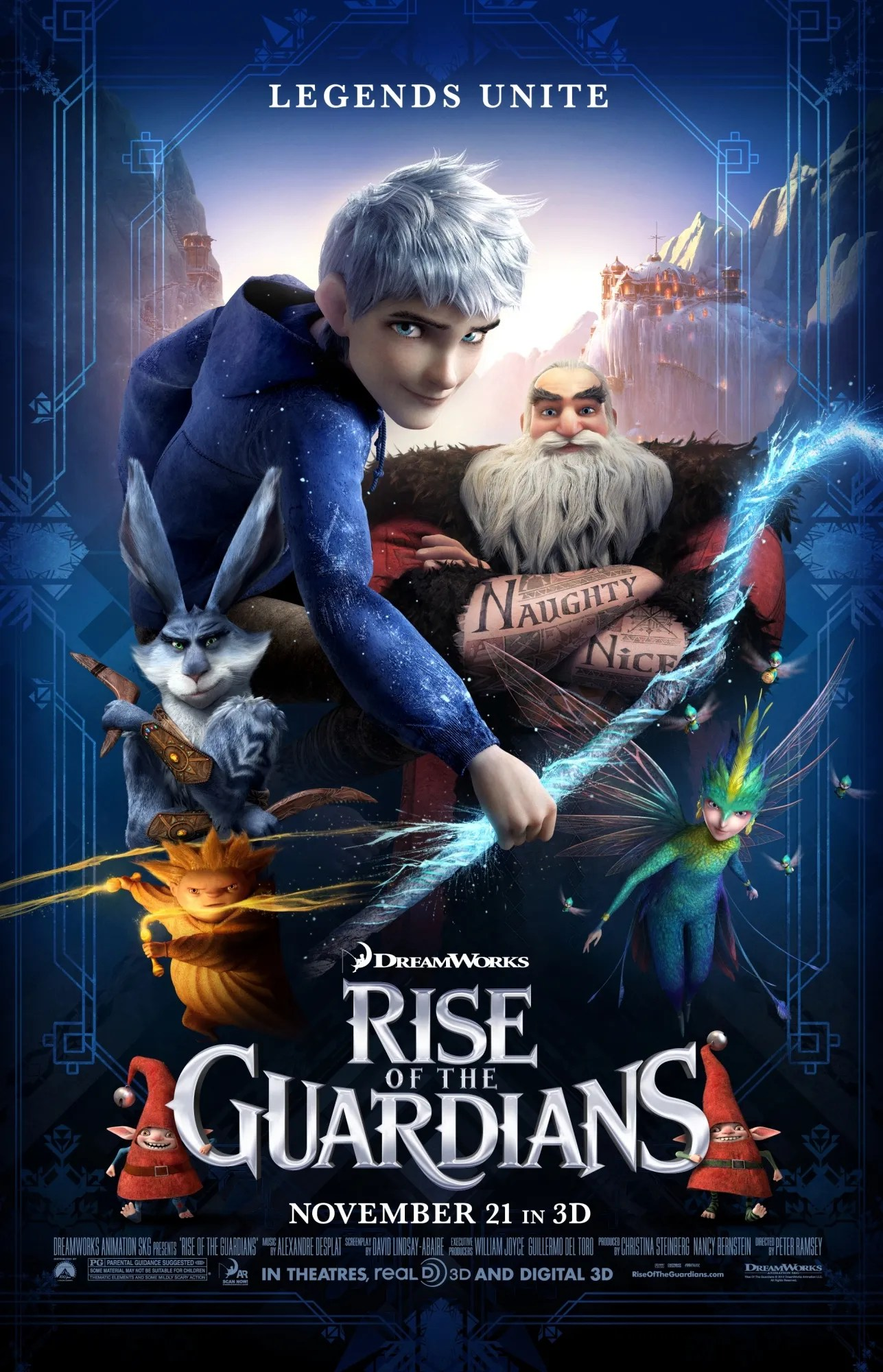 Poster do filme The Rise