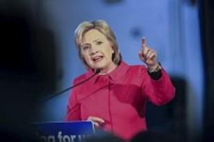 Hillary Clinton es la candidata del partido Demócrata. Foto de archivo