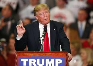 Donald Trump, candidato republicano a la presidencia de Estados Unidos. Foto tomada de cleveland.com.