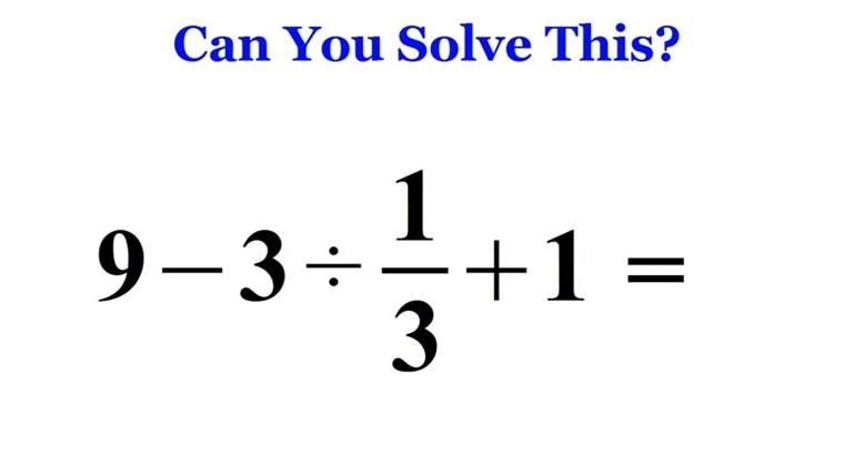 Viral Math Problem From Japan