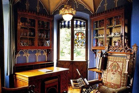 gothic inspired office